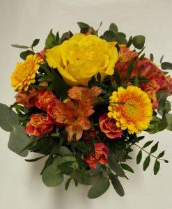 Růže, gerbery, alstromerie - rozvoz květin Olomouc