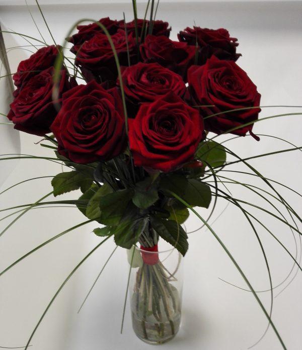 rudé růže – rozvoz květin Olomouc