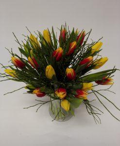 tulipány 25 ks - rozvoz květin Olomouc