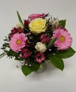 Růže, minigerbery, tulipány - doručení květin Olomouc a okolí