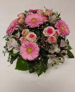 5 ks minigerber, 4 minirůže, 4 alstromerie - rozvoz květin Olomouc