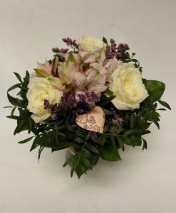 alstromerie a minirůže - rozvoz květin Olomouc