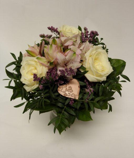 alstromerie a minirůže – rozvoz květin Olomouc
