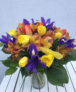 Jarní kytice - rozvoz květin Olomouc