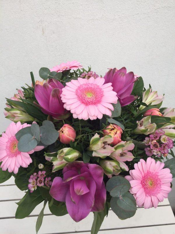 růžová kytice