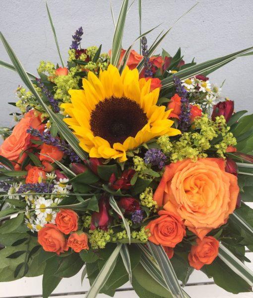 letní kytice rozvoz květin olomouc