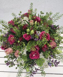 letní svatební kytice Olomouc