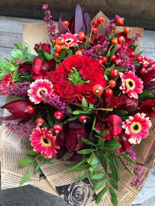 1244 kytice s růži